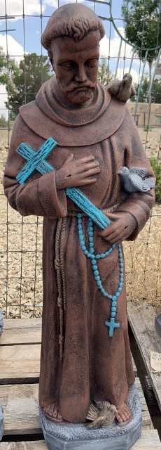 cb saint francis with cross