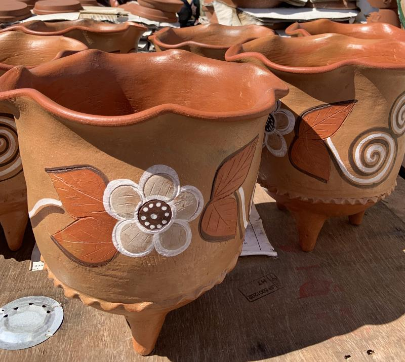 mexican clay pots - puebla