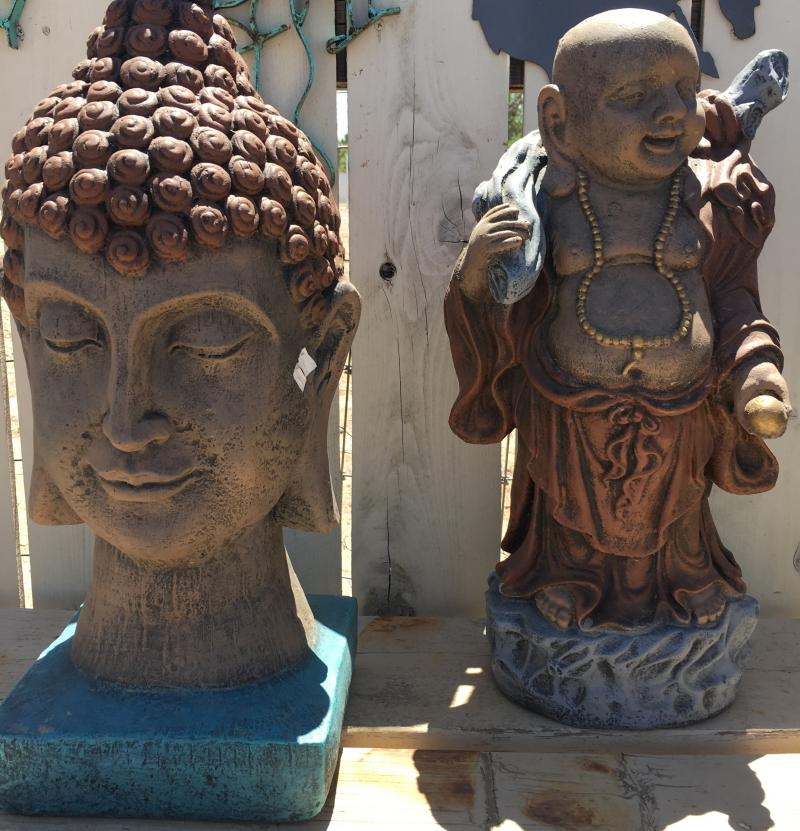 cb head and traveling budda