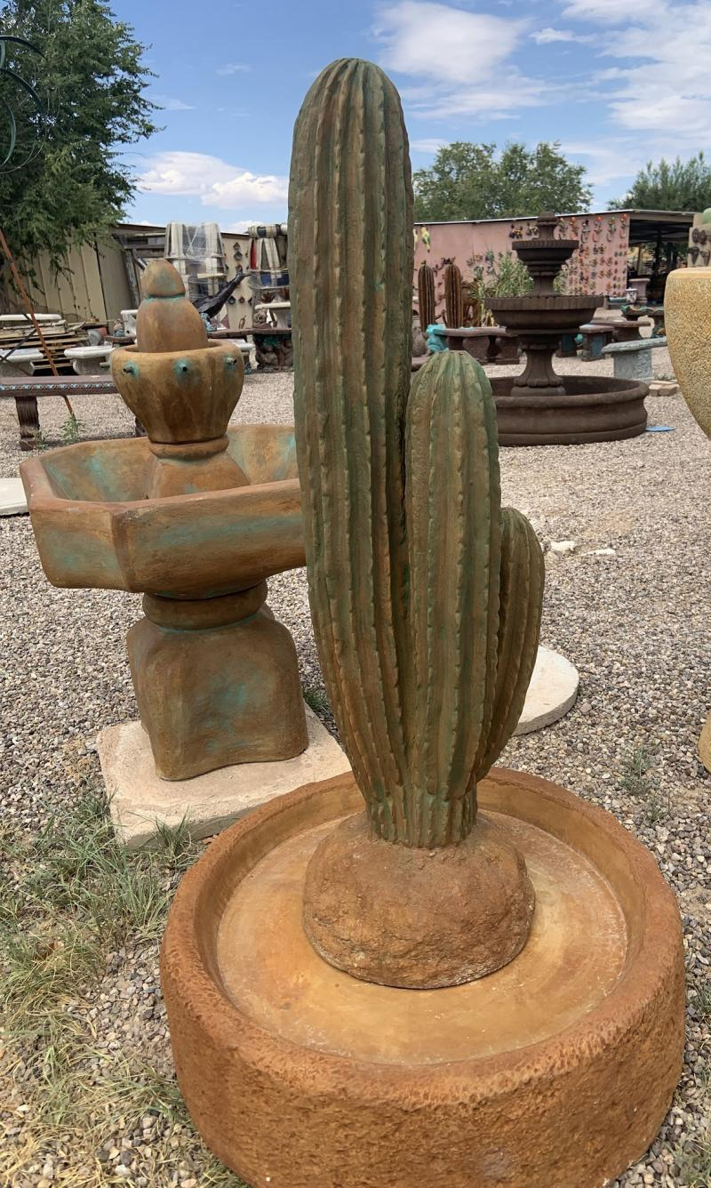 saguaro fountain